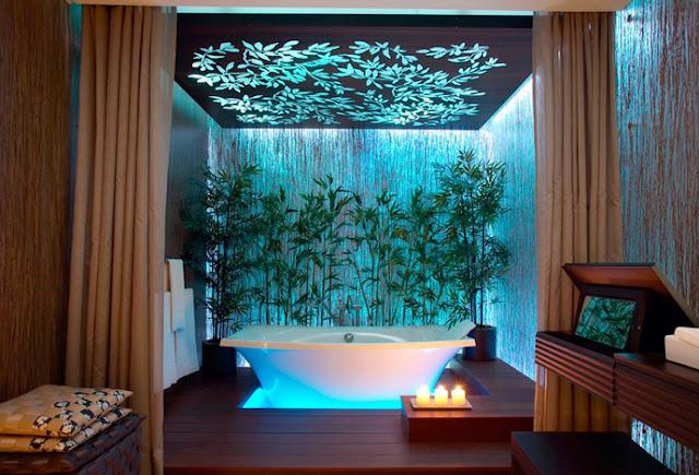 แบบห้องน้ำธรรมชาติ