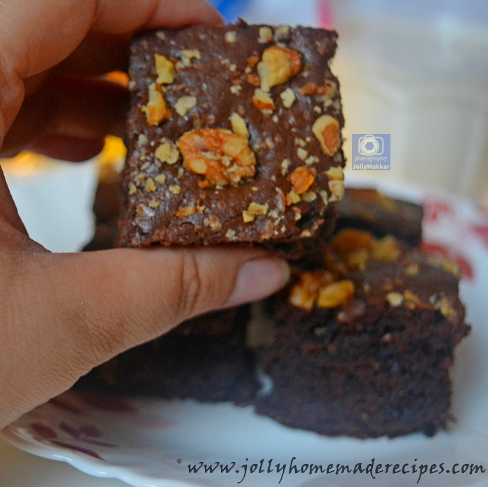 Fudge Walnut Brownie