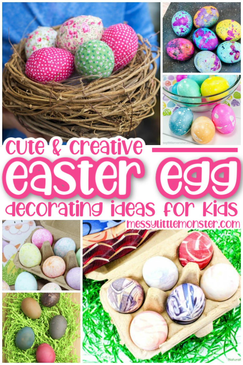 Cute and creative easter egg decorating ideas for kids