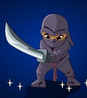 لعبة مقاتل النينجا الشرس