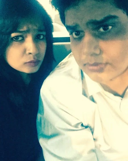 Tanmay Bhat with his girlfriend Rega Jha