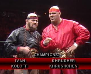 NWA Starrcade 1986 (The Skywalkers) - Ivan Koloff & Krusher Kruschev