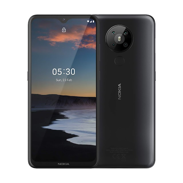 Nokia 5.3 Android One Smartphone with Quad Camera, 6 GB RAM