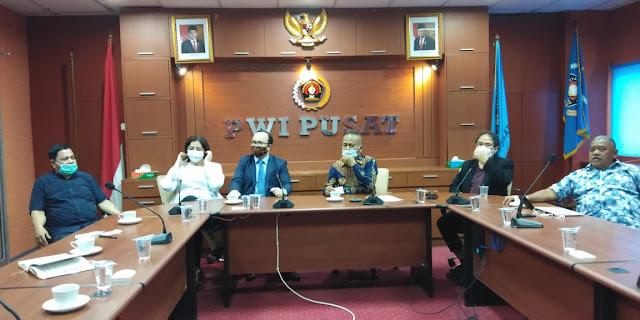 Pertemuan PWI Pusat dengan Dubes Azerbaijan