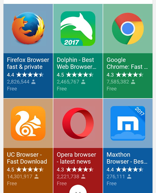 Top 5 Android Browser App You Should Have