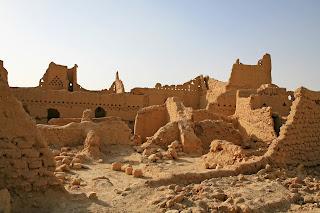 Antiguas ruinas de Diriyah