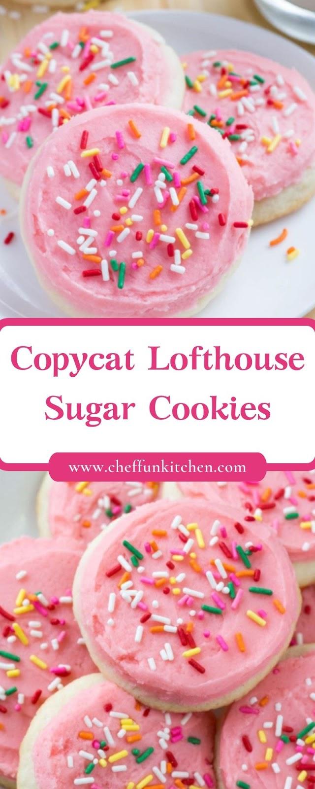 Copycat Lofthouse Sugar Cookies