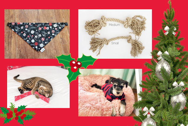 Artisan Christmas gifts for dogs, cats, and people who love pets
