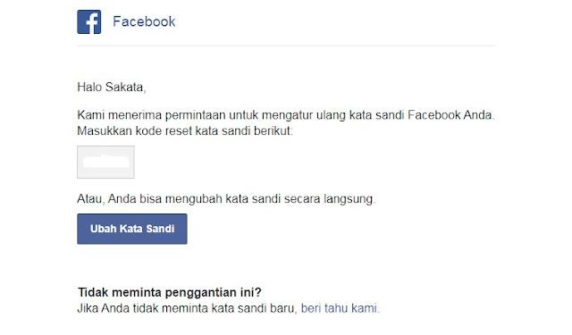Cara Mengembalikan Akun Facebook Yang Di Hack Atau Lupa Kata Sandi