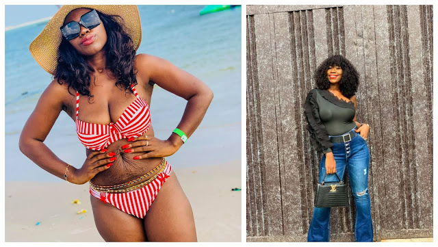 Cheers to the sacrifices we make to bring life - Mother of Two says as she shares photos of her Post-Partum belly