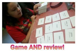 primaa latina flash card game