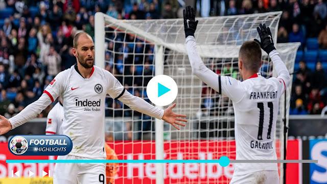 Hoffenheim vs Eintracht Frankfurt – Highlights