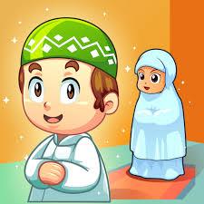 Gambar Kartun Sholat