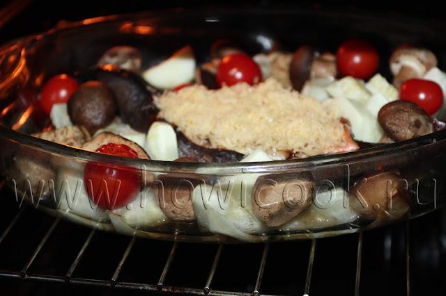 рецепт фаршированной форели с пошаговыми фото