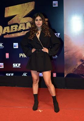 Mouni Roy at Dabangg 3 Premiere HeyAndhra.com