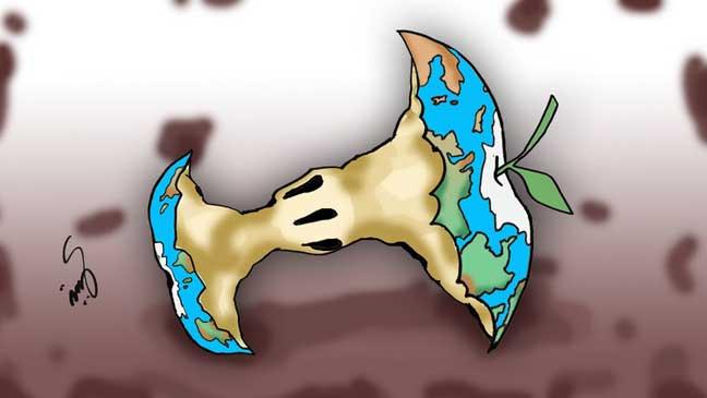 البشر استنزفوا 100% من موارد الأرض