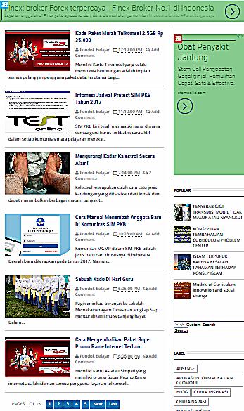 Cara Mengatur Jumlah Postingan pada Halaman Utama Blog