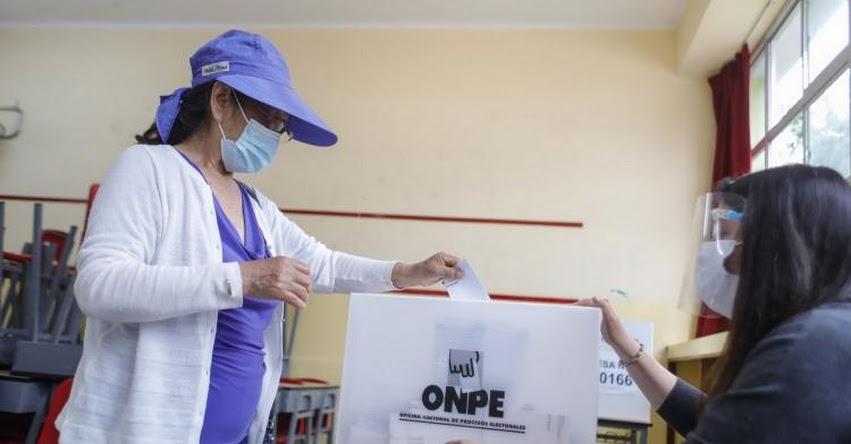 ELECCIONES 2021: Reducen aforo en centros de votación para prevenir contagios de covid