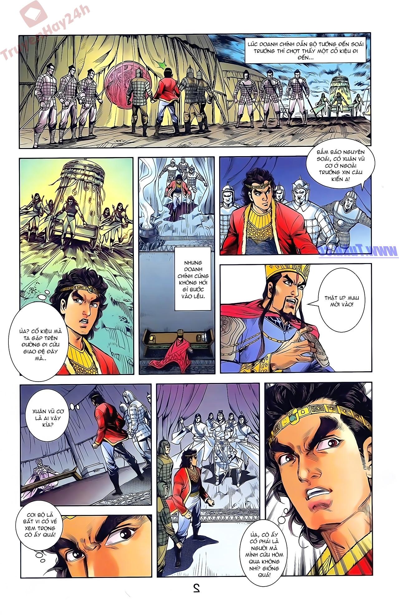 Tần Vương Doanh Chính chapter 47 trang 16