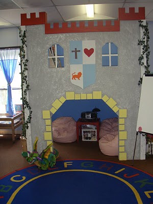Fairy tale themed classroom ideas printable classroom for Space themed book corner