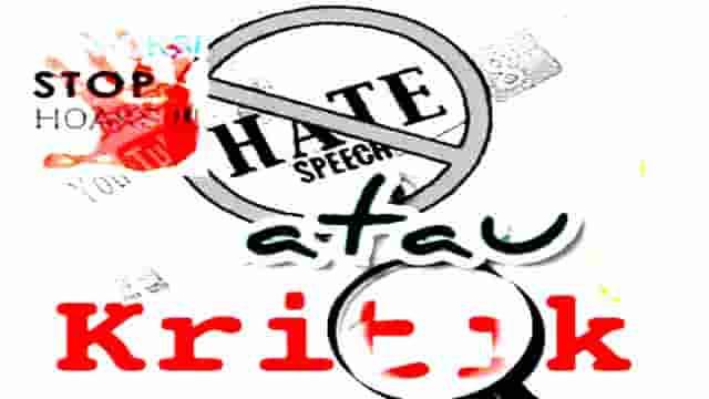 Sampaikan Kritik Bukan Fitnah, Fakta Bukan Rumor