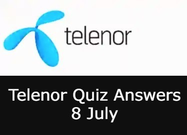 8 July Telenor Answers Today