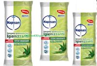Logo Diventa una delle 200 tester Salviette Multisuerfici Igienizzanti Napisan con essenza di Eucalipto