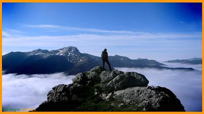 En un alto de la Sierra de Currillos.