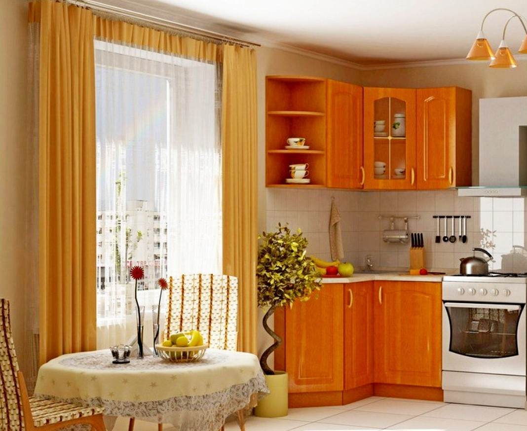 Casual dining room curtains - Beautiful Brown Casual Dining Room Curtain Ideas With