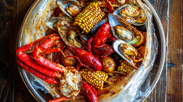 Seafood Boil at Red Hook in South Norwalk