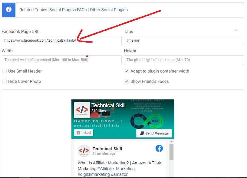 How to Add a Facebook Page Gadget on Blogger Website or WordPress Website
