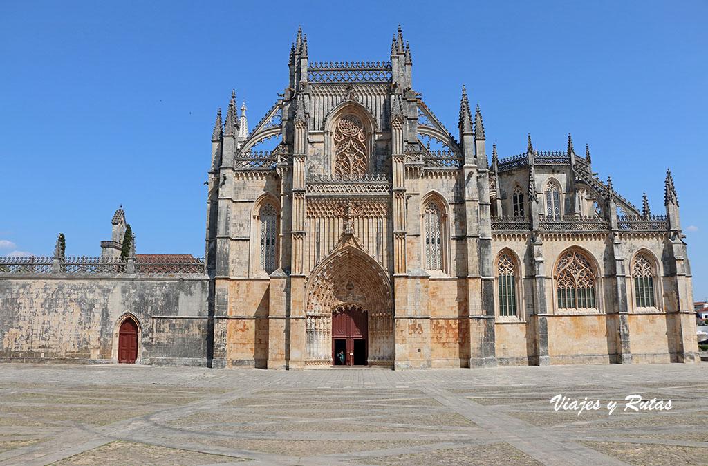 Fachada occidental del Monasterio de Batalha