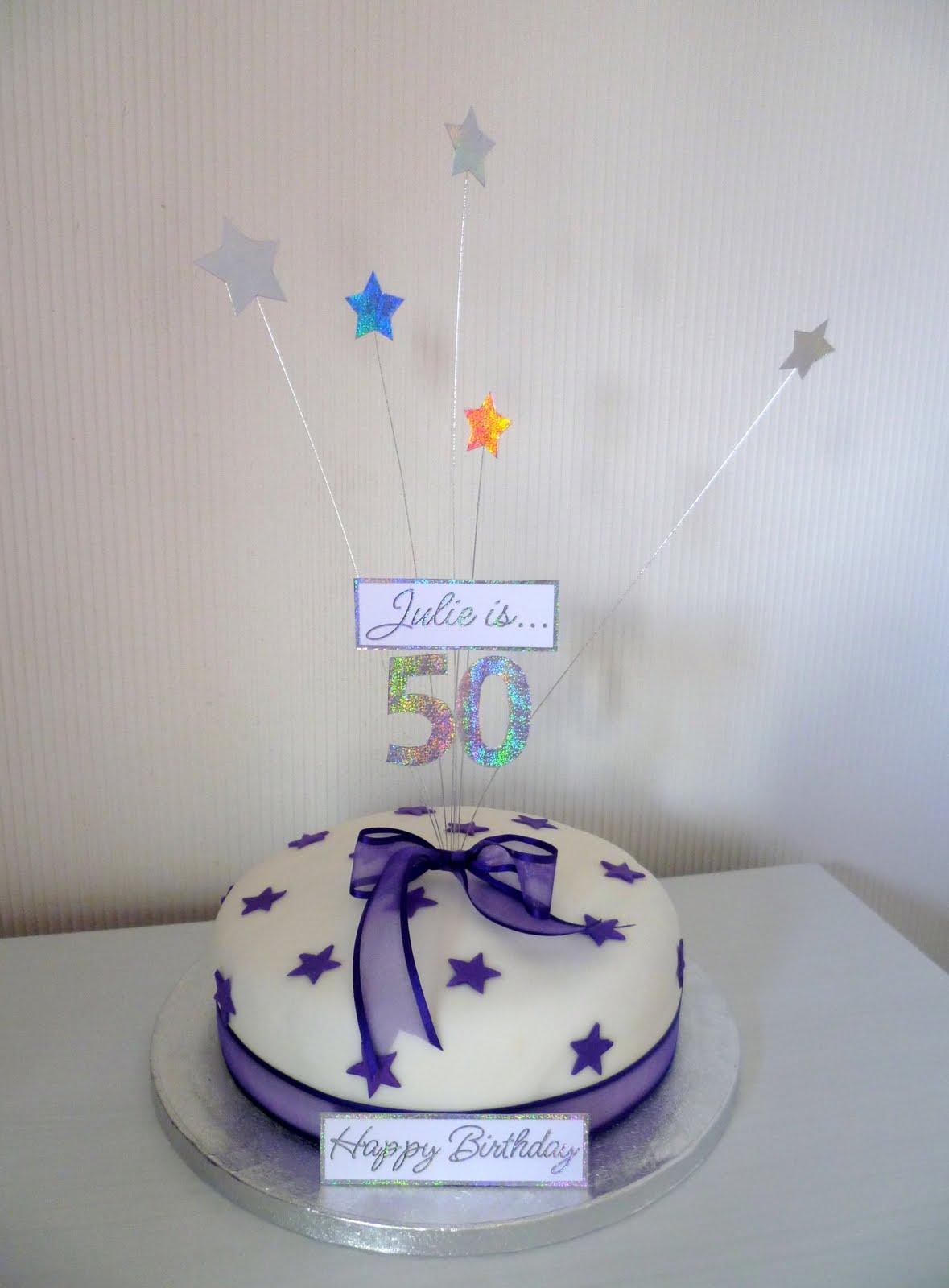 Mums 50th Birthday Cake