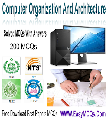 Objective Type Question Answers computer Organization and Architecture In PDF