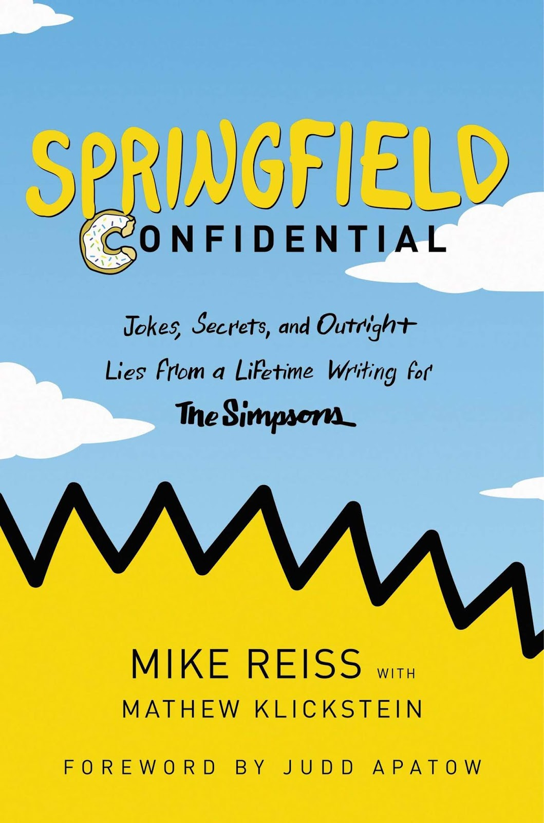 The cover of Simpsons Confidential.