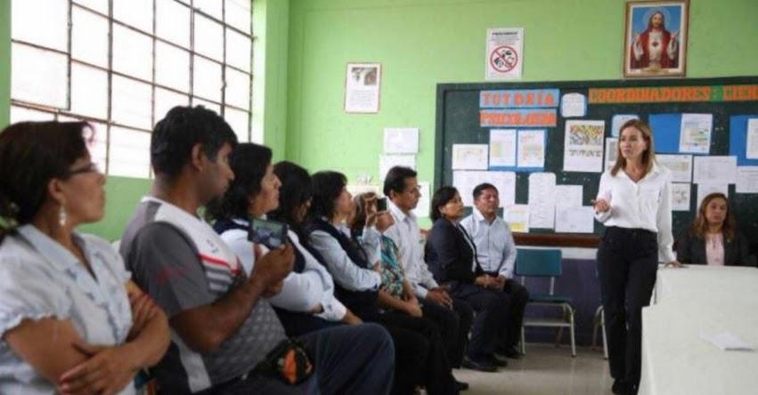 MINEDU: Ministra de Educación pide a docentes compromiso con plan de recuperación de clases - www.minedu.gob.pe