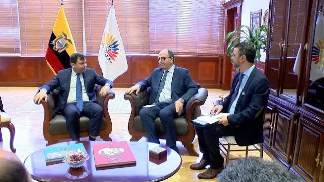 برلمان الإكوادور يدعم المغرب في تدخل الكركرات