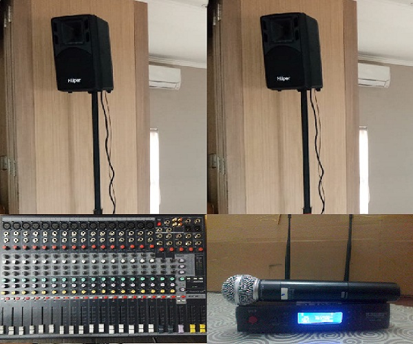 Sewa Mixer Sound System dan paket 1000 watt