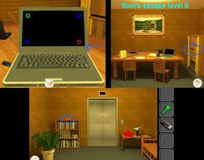 Floors Escape Level 7 Walkthrough