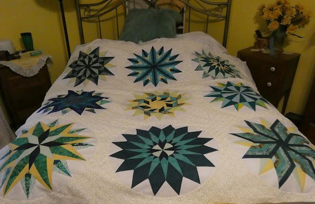 Sizzle quilt
