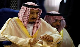King salman urges fight against terrorism on indonesia ride