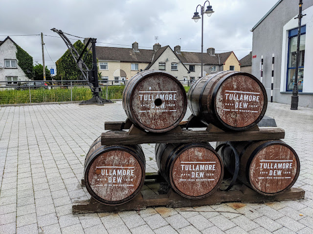 Things to do near Athlone: Tullamore Dew whiskey barrels on the Grand Canal