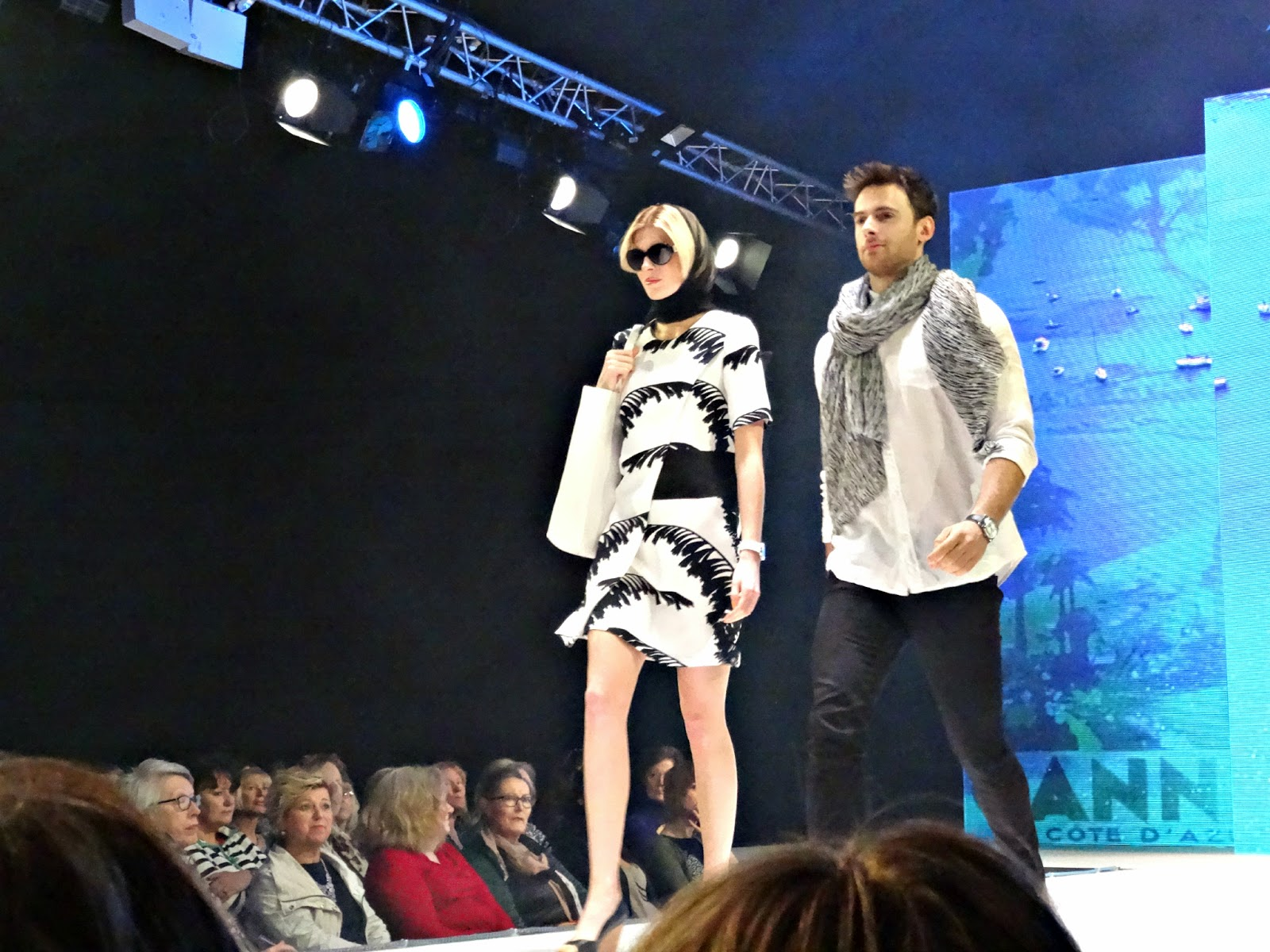 Monochrome Look at Bristol Fashion Week