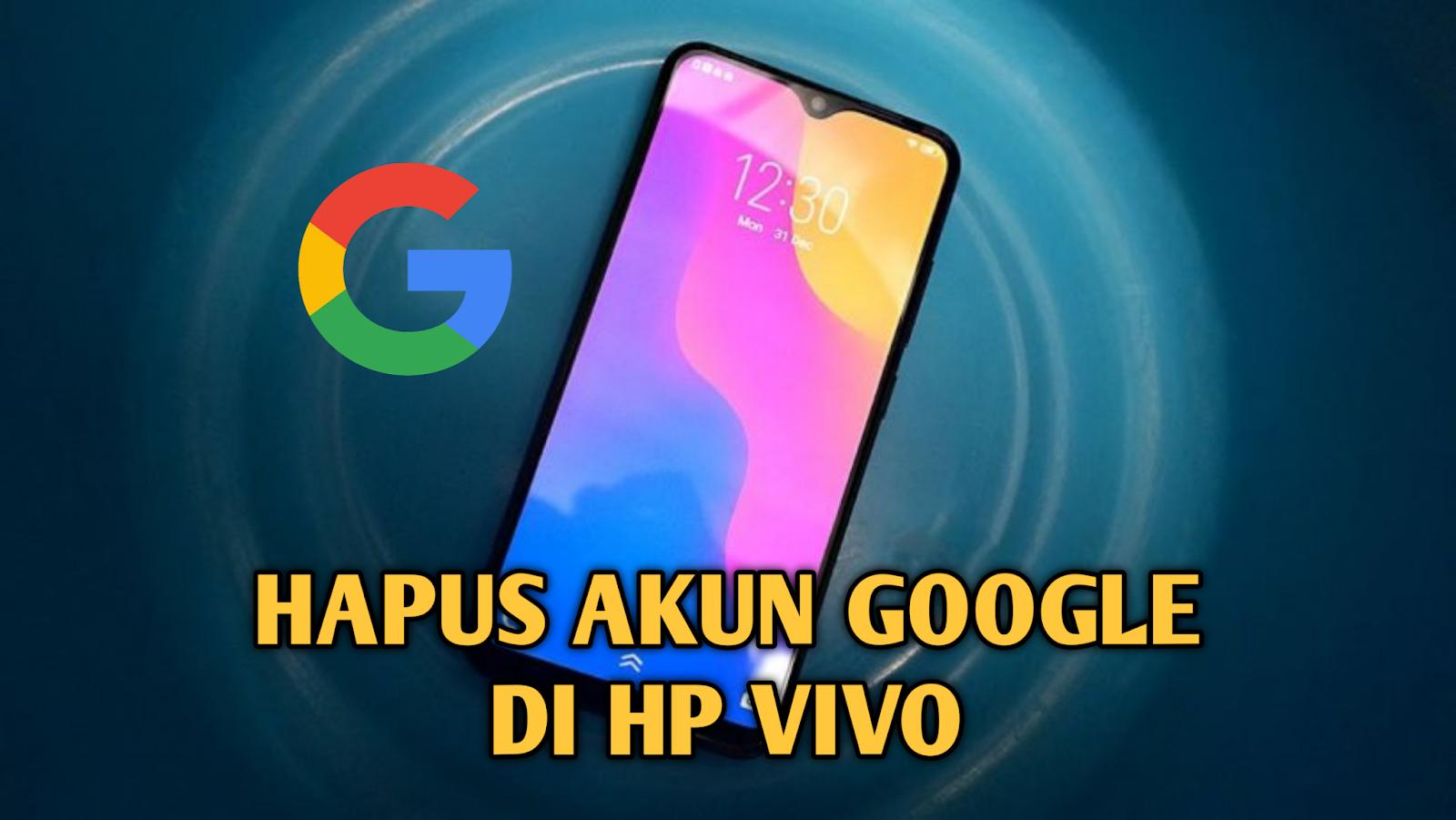 cara-hapus-akun-google-vivo