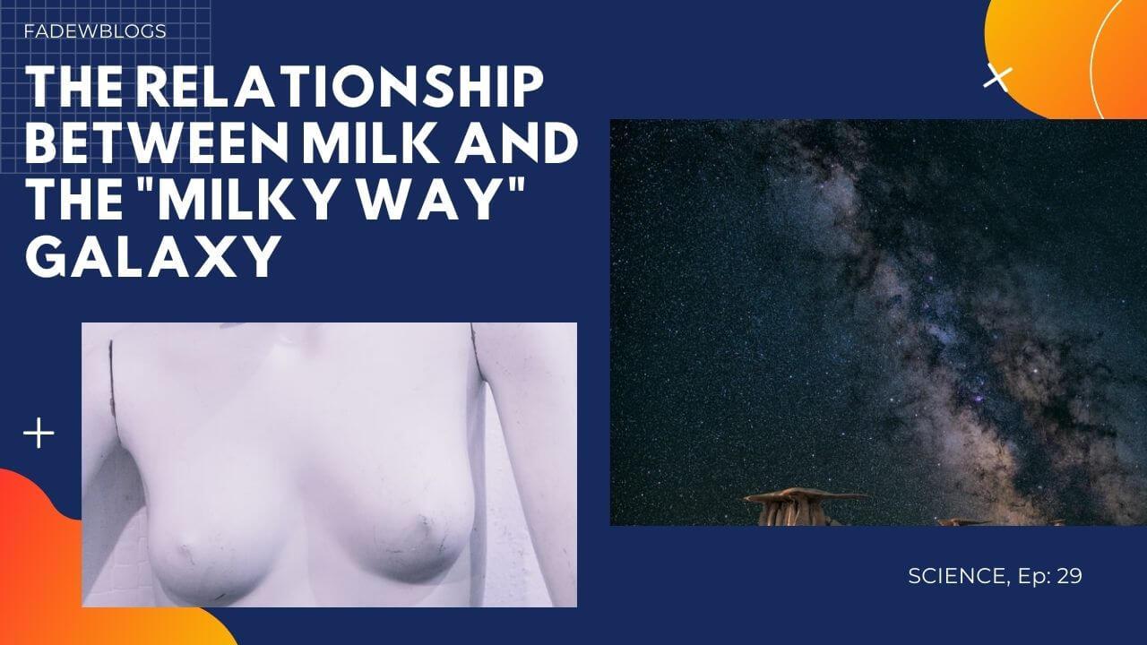 The Relationship between Milk and Milky Way Galaxy