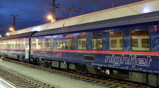 هولندا.. قطار مسائي يعمل بين هولندا وألمانيا والنمسا والرحلة حوالي 14 ساعة
