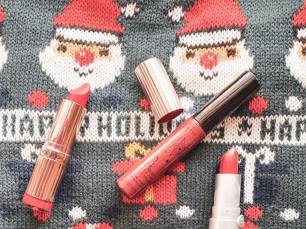 4 Red lipsticks for Christmas | Blogmas