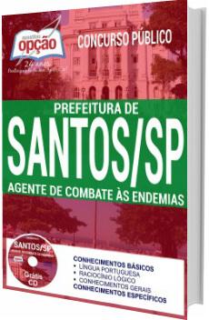 Apostila Prefeitura de Santos 2017