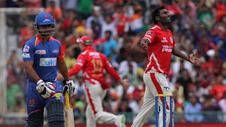 KXIP vs DD 55th Match IPL 2014 Highlights
