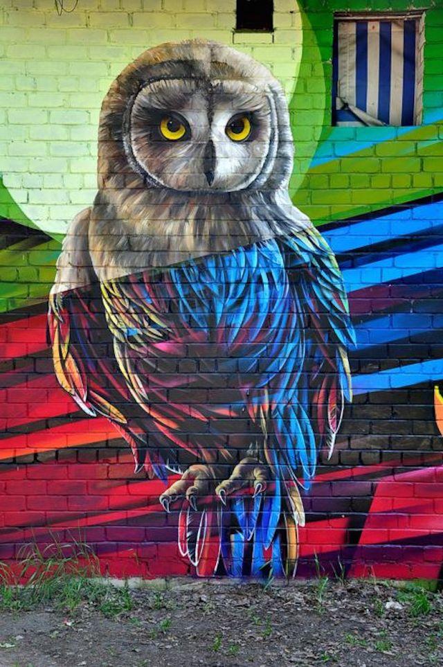 30 Fresh Creative Street Art Murals Time For Some Art